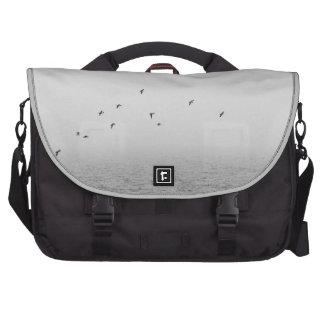 Birds in fog bags for laptop