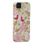 birds in love iphone 4/4s barely there case iPhone 4 Case-Mate cases