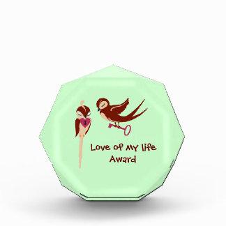 Birds in Love Key to my Heart Award