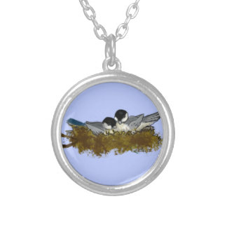 Birds in Nest Necklace