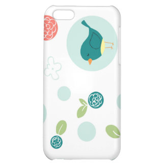 Birds in Polka Dots iPhone 5C Covers