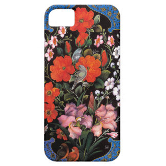 Birds in the flowers artistic painting of Persia iPhone SE/5/5s Case