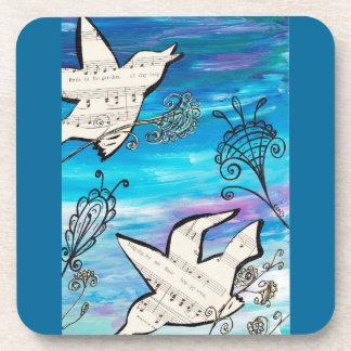 Birds in the Garden Coasters