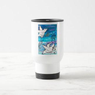Birds in the Garden Coffee Mug