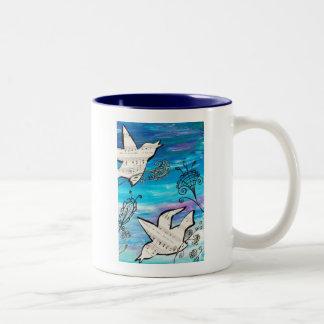 Birds in the Garden Mug