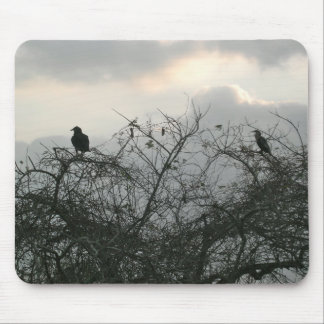 Birds in the Storm Mouse Pads