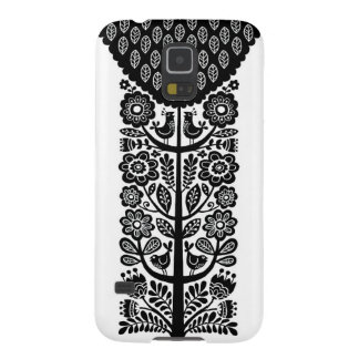 Birds in Tree Galaxy S5 Case - Black and White