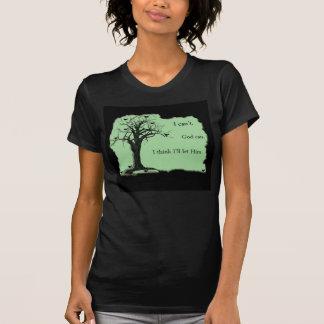 Birds in Tree - Mint Green - Tshirt