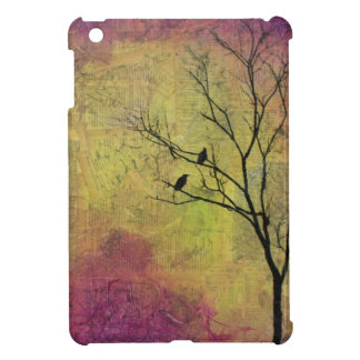 Birds in Tree Silhouette Titled 'The Constant Wife Cover For The iPad Mini