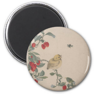 Birds, Insects and Flowers - Yi Zhai Magnet