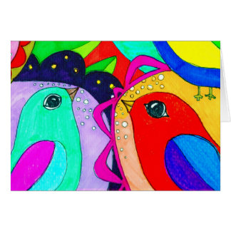 Birds just want to Fly:. Stationery Note Card