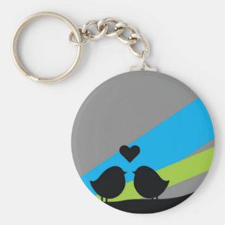 Birds - Keychain Llavero Redondo Tipo Pin