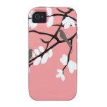 Birds_leaves_tree_design iPhone 4/4S Case