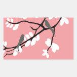 Birds_leaves_tree_design Rectangular Altavoces