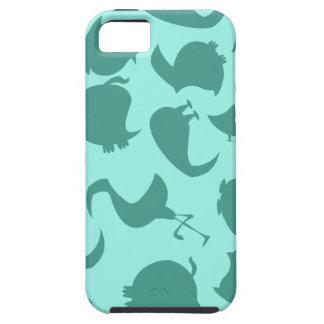 Birds (Mint) iPhone SE/5/5s Case