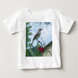 Birds Mockingbird Animal Nature Photo T Shirt