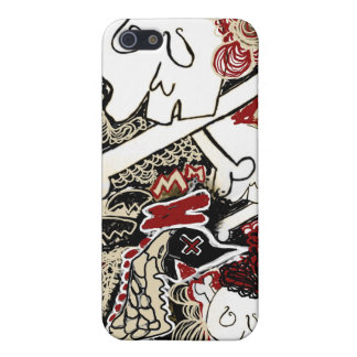 birds n skulls iphone case cover for iPhone 5