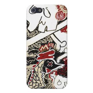 birds n skulls iphone case iPhone 5 cases