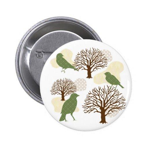 Birds&Nature Design1 Botton 2 Inch Round Button
