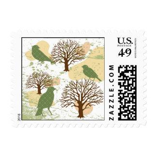 Birds&Nature Design1 Stamp