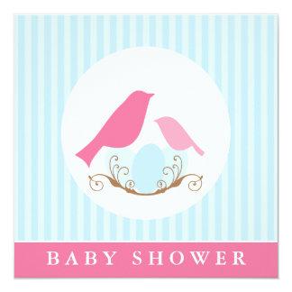 Birds Nest Baby Shower Card