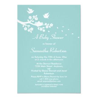 Birds Nest Baby Shower Invitation