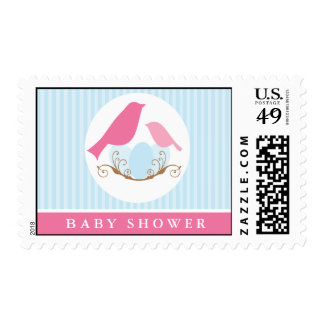 Birds Nest Baby Shower Postage