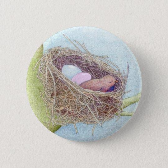 Birds Nest Button