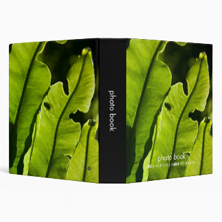 Bird's Nest Fern Photo Book 3 Ring Binder