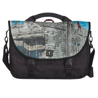 Birds nest for a Victorian in SanFrancisco Mission Laptop Commuter Bag