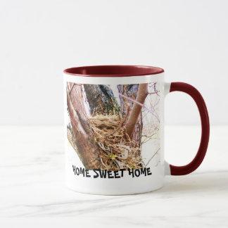 "BIRDS NEST""HOME SWEET HOME"" coffee mug"