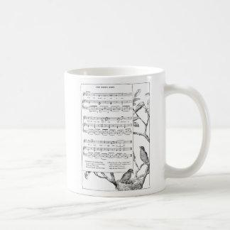 Bird's Nest Song and Music Coffee Mug