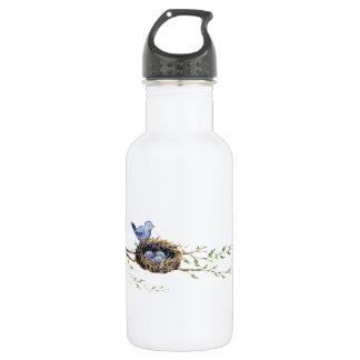 Bird's Nest Stainless Steel Water Bottle