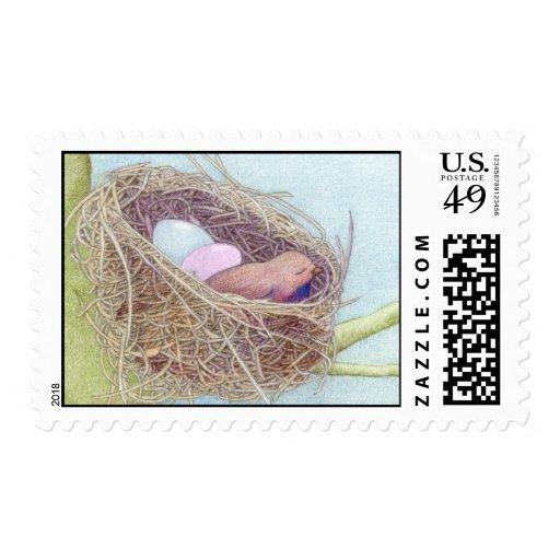 Birds Nest Stamp