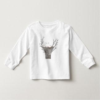Birds nest toddler t-shirt