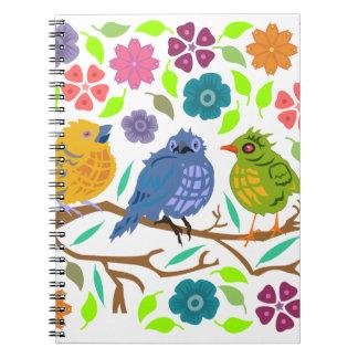 Birds Notebook