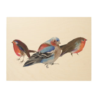 Birds of a feather 2011 wood wall decor