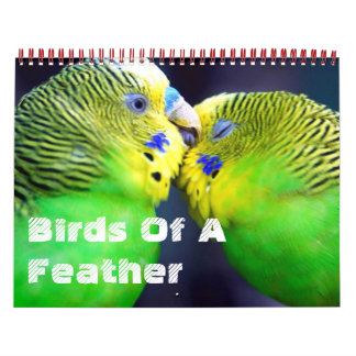 Birds Of A Feather Calendar