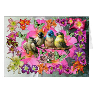 Birds Of A Feather Card