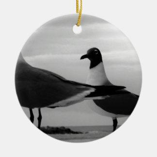 Birds of a Feather Ceramic Ornament