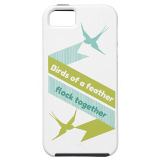 Birds of a Feather, Flock Together iPhone SE/5/5s Case