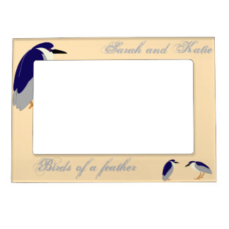 Birds of a feather magnetic frame