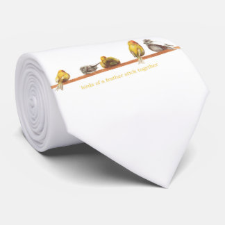 Birds of a Feather Neck Tie