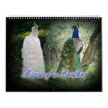Birds of a Feather Peacock Calendar