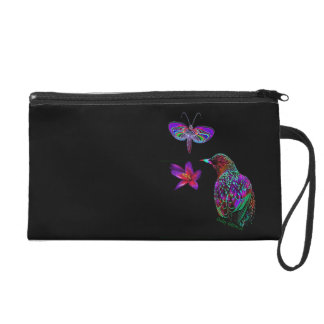 Birds of a feather wristlet