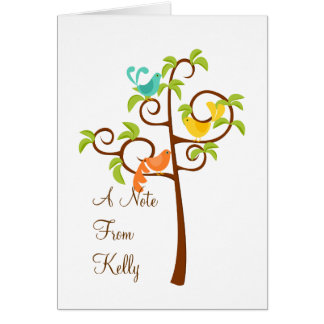 Birds of a Tree Greeting Card