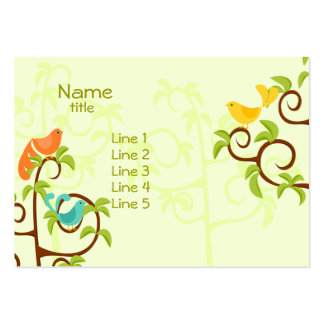 Birds of a Tree Large Business Card