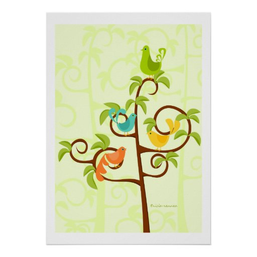 Birds of a tree poster