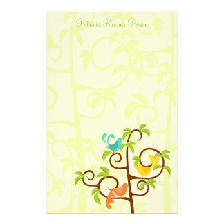 Birds of a Tree Stationery Paper
