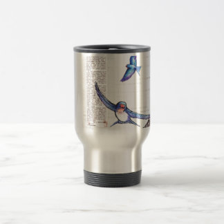Birds of a Welsh Valley Travel Mug